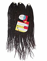 Senegal Twist  #33 Synthetic Hair Braids 18inch 20inch 22inch Kanekalon 81 Strands 200g  Multipal Pack for Full Heads