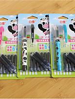 Direct Liquid In Ink Sac Pen(3PCS)