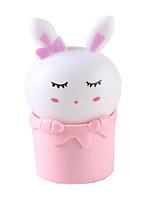 контроль датчик привело свет ночи кролика вилка зарядка настенный светильник прикроватная лампа ночника ребенка детский подарок на день