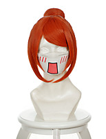 Gintama Kagura Orange Bun Halloween Wigs Synthetic Wigs Costume Wigs