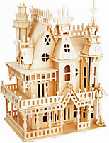 Dream Villa Wooden Simulation Stereo DIY Assembly Model Educational Toys