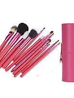 12 Blush Brush / Eyeshadow Brush / Brow Brush / Eyeliner Brush Professional / Travel / Full Coverage Wood