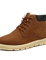 Men's Boots Comfort PVC Casual Black / Brown / Khaki