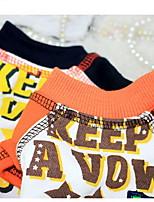 Собаки Плащи Оранжевый / Синий Одежда для собак Зима Мультфильмы Милые / На каждый день /