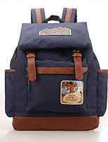 Casual Backpack Women Canvas Blue Green Red
