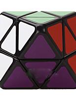 LanLan® Cube de vitesse lisse Octahedron Vitesse Cubes magiques Noir Autocollant lisse / Anti-pop ABS