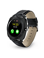 Bluetooth Smart Watch Pedometer Sleep Smartwatch Leather Android Monitor Remote Camera Music SIM TF Card Smartwatch