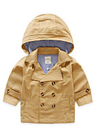 Boy's Casual/Daily Solid Suit & BlazerCotton Spring / Fall Black / Brown