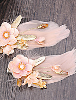 Women's Tulle / Fabric Headpiece-Wedding / Special Occasion / Casual / Outdoor Hair Clip 1 Piece