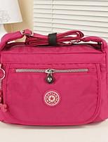 Women Polyester Casual / Office & Career Shoulder Bag Purple / Blue / Red / Black