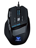 aula mouse da gioco anima assassino versione ghiaccio 7d professionale multimediale dual-mode sinistro del mouse mano applicare 2000DPI 7keys