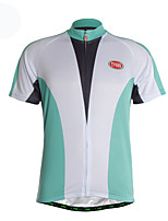 Sports Cycling Jersey Men's Short Sleeve Breathable / Quick Dry / Ultra Light Fabric / Soft / Comfortable Bike Jersey