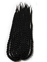 Twist cubique Tresses Twist Extensions de cheveux 22inch wholesale contact my whatsApp+8618737194292 Kanekalon 12 Brin 120g grammeBraids