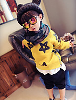 Boy's Casual/Daily Print Hoodie & SweatshirtCotton Spring / Fall Red / Yellow