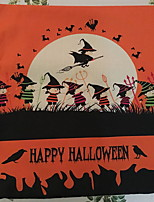 Halloween Witches Squad Coven Square Linen  Decorative Throw Pillow Case Cushion Cover