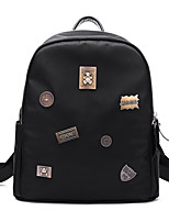 Casual Event/Party Backpack Women Polyester Cotton Black