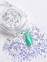 1pcs New Rhombus Paillette Glitter Nails 3d Slice Powder Set DIY Design Nail Art Sequins Decoration Fashion Accessories