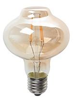 4W E26/E27 Lâmpada Redonda LED G80 4 COB 380 lm Branco Quente Decorativa / Impermeável V 1 pç