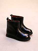 Boy's Boots Comfort Leather Casual Black Brown