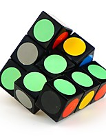 Shengshou Magic Cube 1*3*3 Speed Smooth Speed Cube Black / White Smooth Sticker Feng Anti-pop
