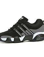 Men's Sneakers Spring / Fall Comfort PU Casual Flat Heel Black / Blue / Red Sneaker