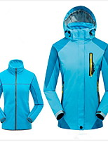 Hiking Softshell Jacket Women's Waterproof / Breathable / Thermal / Warm / Windproof / Wearable  / Winter Terylene