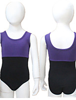 Cotton/Lycra 2 Tone Tank Ballet Dance Leotards More Colors for Girls and Ladies
