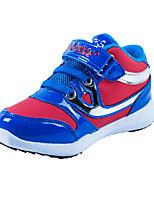 Синий / Красный / Темно-красный-Мужской-На каждый день-Полиуретан-На плоской подошве-Удобная обувь-Кеды