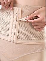 Serre Taille Vêtement de nuit Femme,Sexy Couleur Pleine-Mince Nylon Beige Aux femmes
