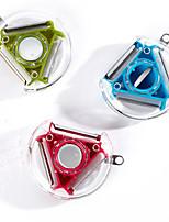 tres fuentes de la cocina pelador pelador de frutas multifuncional pequeña multiuso (colores aleatorios)