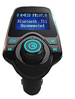 agetunr T11 супер горячая поддержка передатчик продажа Bluetooth автомобильный комплект громкой связи MP3-плеер FM микро SD карты&U