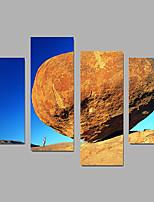 Unframed Stampa trasferimenti su tela Paesaggi Modern,Quattro Pannelli Tela Qualsiasi forma Stampa artistica Wall Decor For Decorazioni