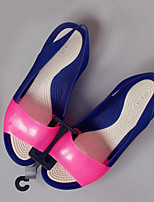 Women's Sandals Summer Slingback Rubber Casual Flat Heel Others Blue / Green / Pink / Beige Others