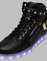 Unisex Sneakers Spring / Summer / Fall / Winter Comfort PU Outdoor / Athletic / Casual Flat Heel RivetLED shoes