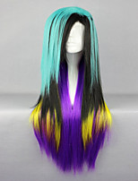 Classical 80cm Long Straight Synthetic Colorful Cosplay Wig Lolita Wig