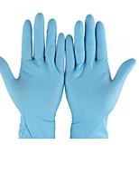 Одноразовый нитрильного каучука маслостойкой, не являющиеся перчатки скольжения размер м (100 / коробка (50 пар))