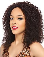 parrucca 100% capelli vergini colore naturale umano riccio crespo pizzo con i capelli del bambino