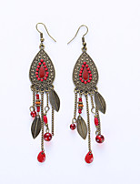 Drop Earrings Earrings Jewelry Alloy Fashion White Black Red Blue Jewelry Wedding Party Halloween Daily 1 pair