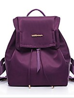 Women Oxford Cloth Casual Backpack Purple / Blue / Red / Black / Fuchsia