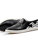 Men's Loafers & Slip-Ons Spring / Fall Comfort PU Casual Low Heel Others Black / White Others