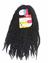 Marley Braids  Black #1 Synthetic Hair Crochet Braids 18inch Kanekalon 80g