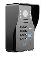 100 100 CCD système sonnette Sans fil Noir et blanc