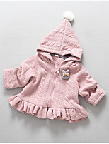 Girl's Casual/Daily Solid Down & Cotton Padded / Suit & BlazerCotton Winter / Fall Pink / Gray