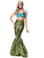Fantasia Adult Mermaid Costume Pretty Mermaid Tail Costume Halloween Costumes For Party Women Carnival Fancy Dress