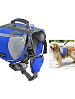 Dog Dog Pack Pet Carrier Waterproof / Portable Red / Black / Blue / Orange Nylon