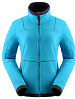 Hiking Softshell Jacket Women's Thermal / Warm Winter Velvet Red / Black / Blue S / M / L / XL / XXL