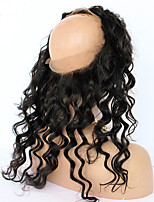 Pre Plucked 360 Lace Frontal Closure 8A Lace Frontals With Baby Hair Natural Hairline Malaysian Virgin Hair Loose Wave