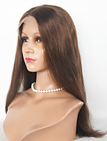 Malaysian Hair Synthetic Wigs Silky Strsight  Lace Front Wigs For Women