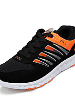 Boy's Sneakers Spring / Fall Comfort PU Athletic Flat Heel Others / Lace-up Blue / Yellow Soccer