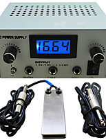 Solong tattoo Dual Machine Tattoo Power Supply for Machine  Needle Grip Ink Kit P114-3